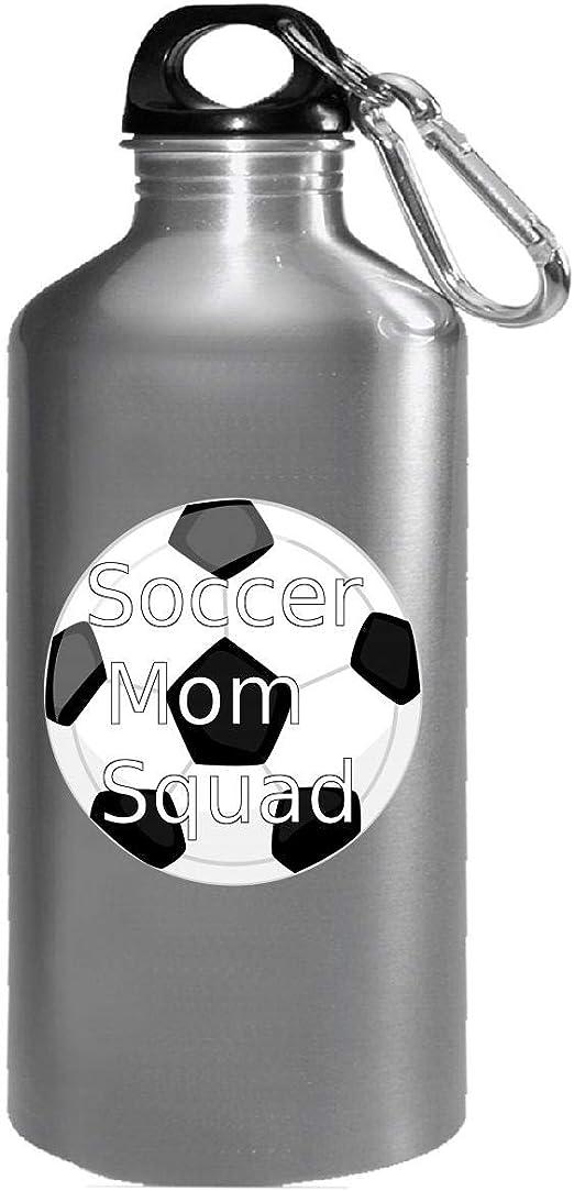 Botella de agua con diseño de balón de fútbol: Amazon.es: Hogar