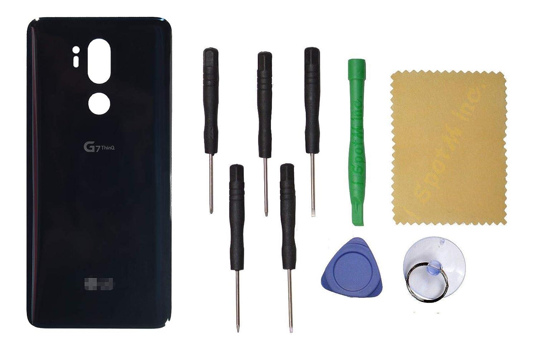 Amazon.com: Tapa trasera de cristal para LG G7 ThinQ + ...