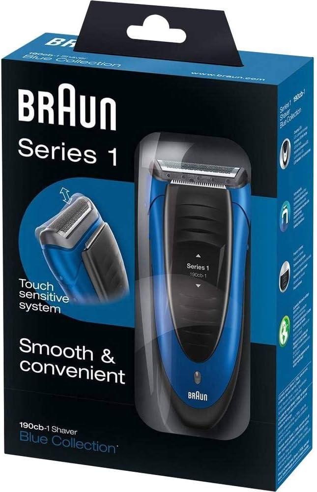 Braun 190 - Afeitadora, color azul: Braun: Amazon.es: Salud y ...