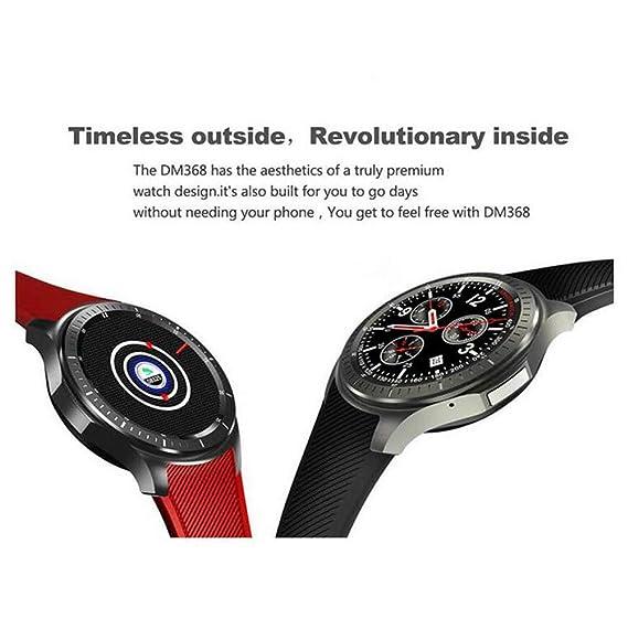 HHRONG Reloj Inteligente, GPS posicionamiento con Detector de ...