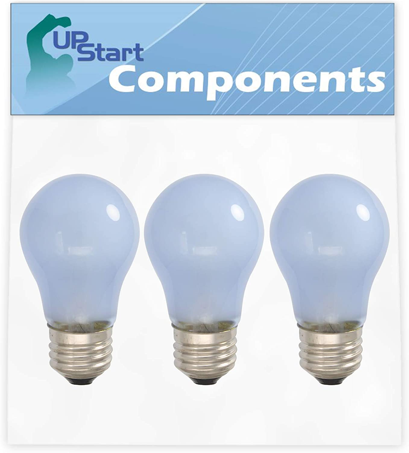 PS977006 AH977006 EA977006 1056583 3-Pack 241555401 Refrigerator Light Bulb Replacement for Frigidaire Refrigerators Compatible with Frigidaire 241555401 /& Part Number AP3763141
