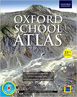 Image result for Oxford school atlas India's Most Trusted Atlas