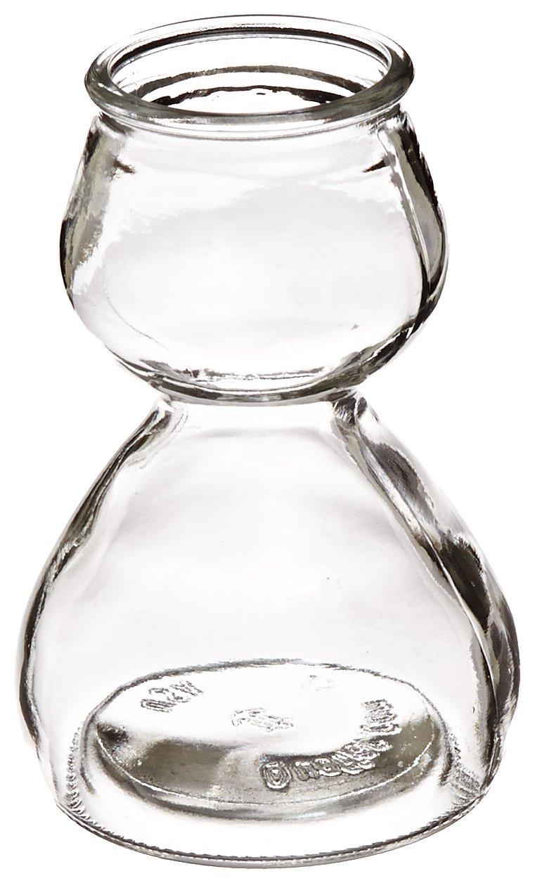 Quaffer Double-Bubble Shot Glass, Glass (Case of 12)