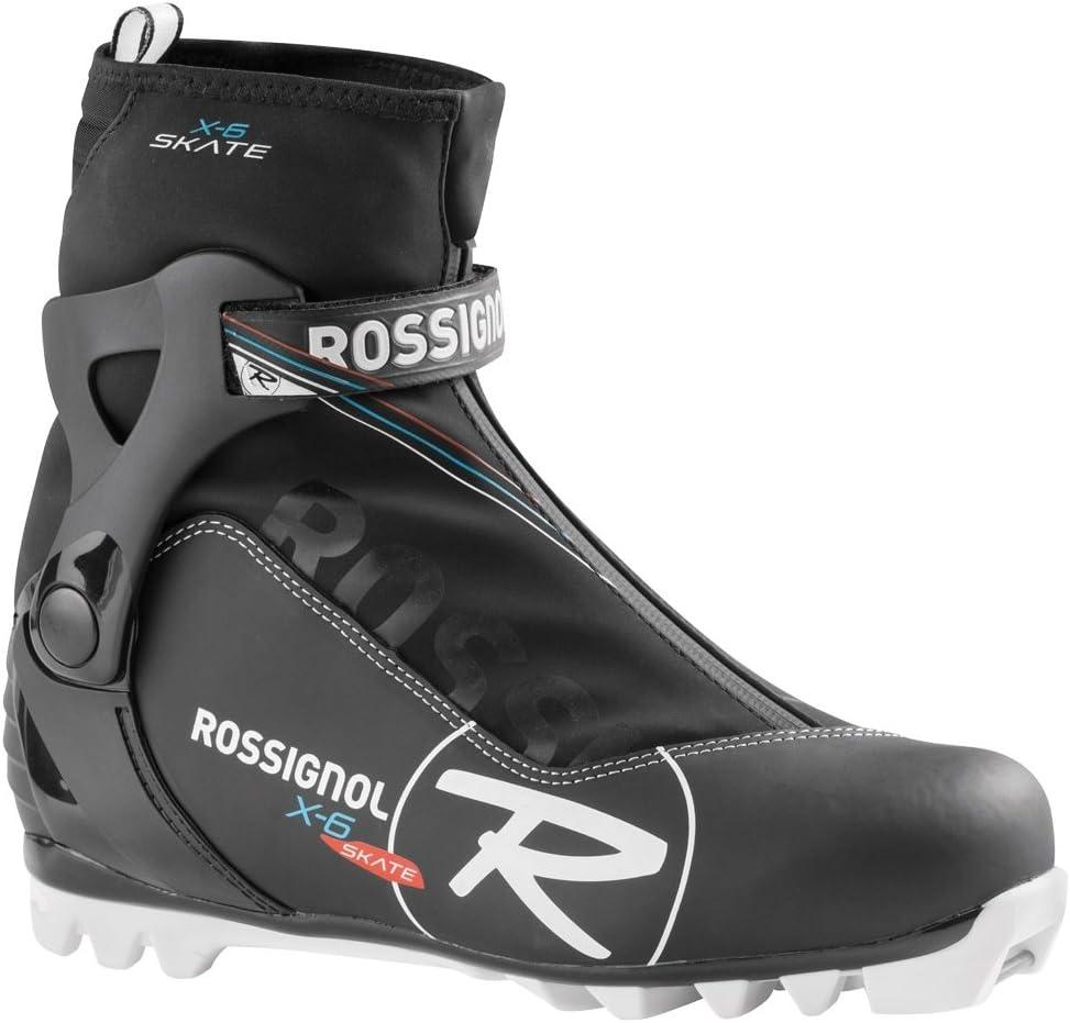 Chaussures De Ski De Fond Rossignol X-6 Skate Noir