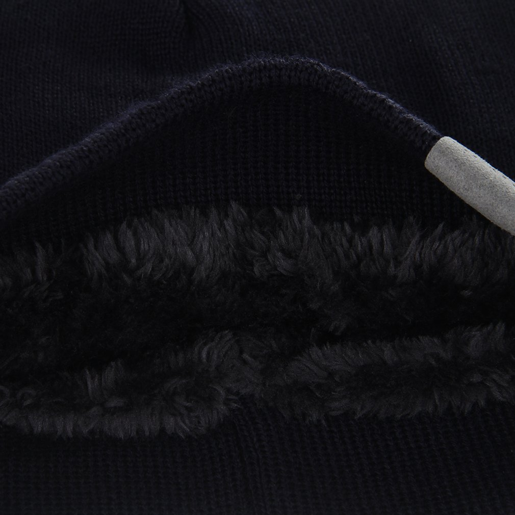La vogue-Cappello Uomo Knit Hip-Hop cap in Acrilico Berretto ... 628303574791
