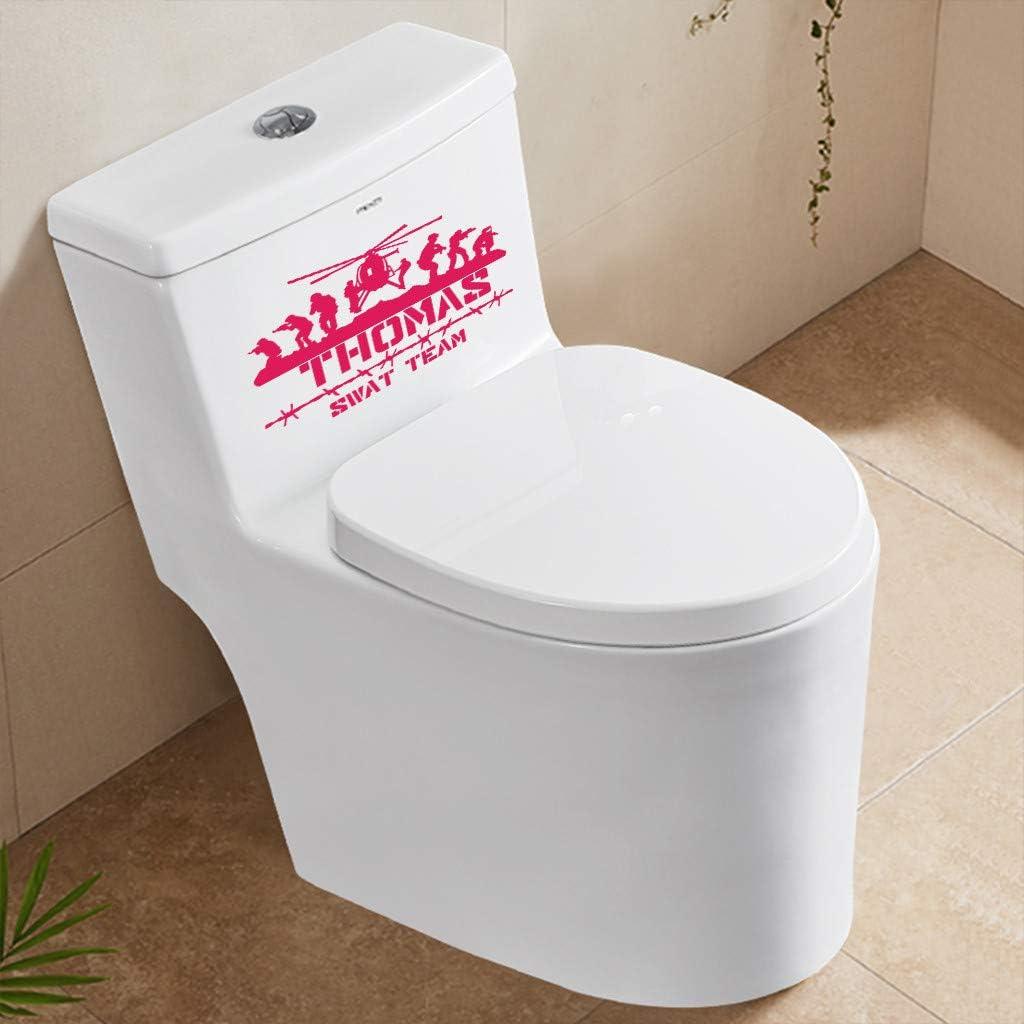 Toilet Decal Vinyl Sticker DIY Wall Sticker Toilet Bathroom