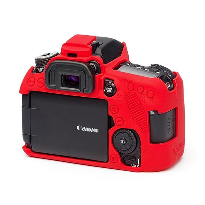 easyCover ECC80DR Canon 80D Case, Red
