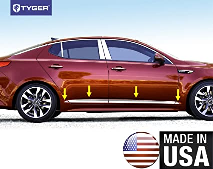 Perfect Tyger Auto Made In USA! TYGER Body Lower Side Molding Trim Works With Kia  2011