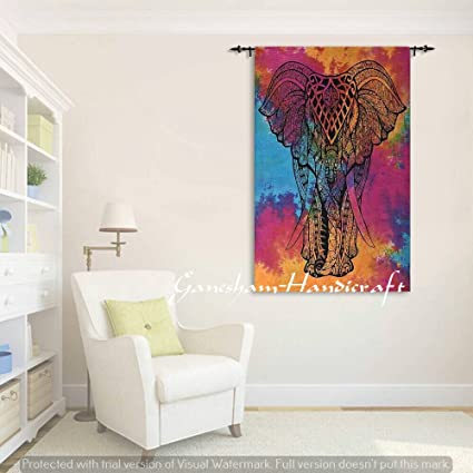 Amazon.com: Indian Handmade Hippie,Wall Stickers Home Decor Poster ...