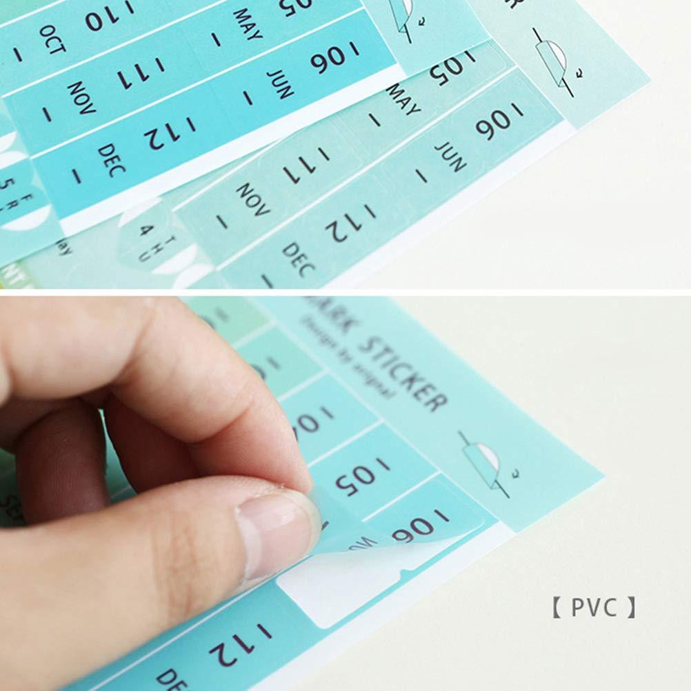 Amazon.com: YeahiBaby 8 hojas autoadhesivas Mini DIY papel y ...