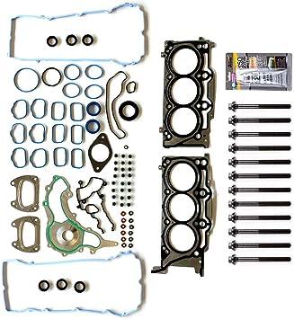 HS26541PT cciyu Engine Head Gasket Bolts Kit Replacement fit for 11-16 Chrysler 200 300 Dodge Avenger Challenger 3.6L
