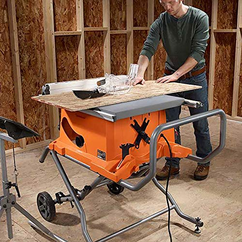 Ridgid R4513 10 In Table Saw With Wheel Stand Best Price