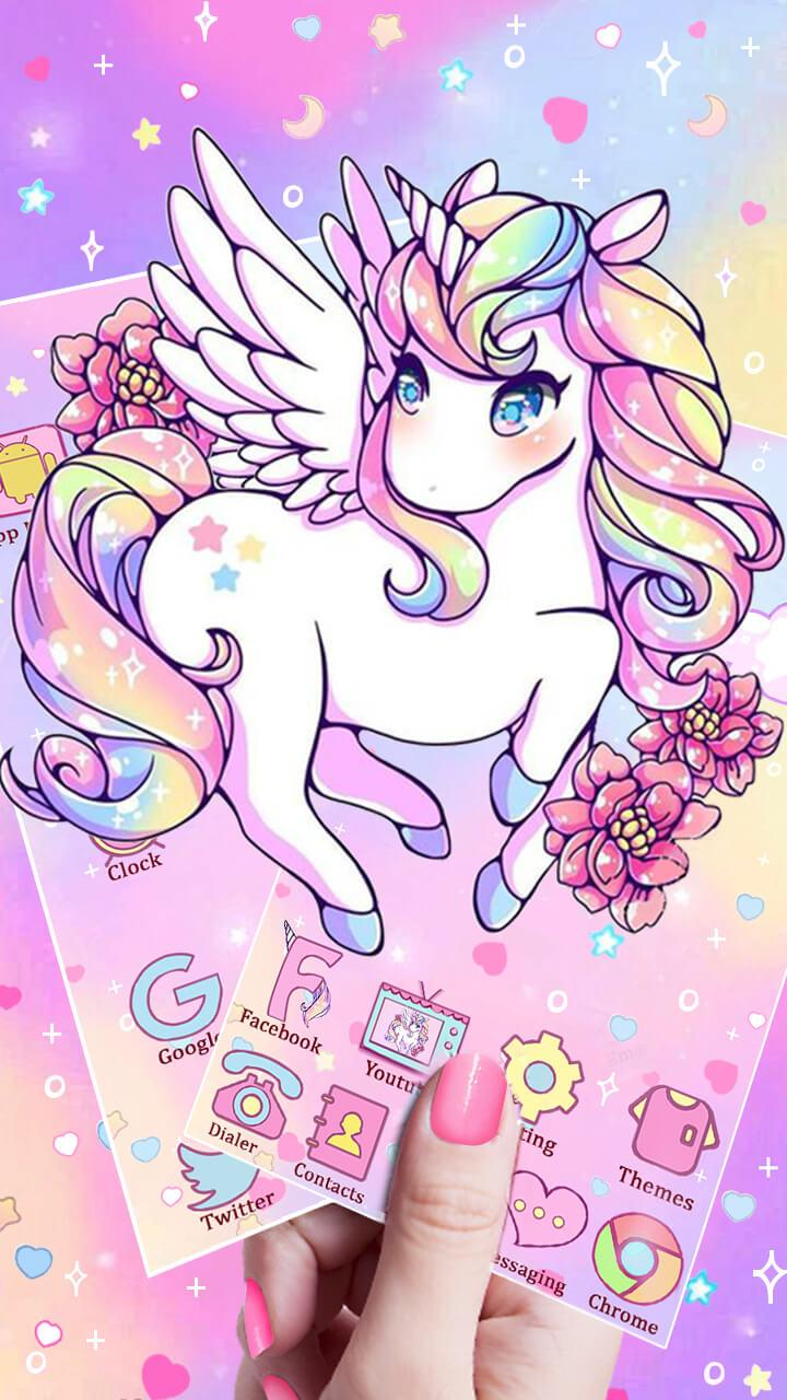 Cute Unicorn Themes Hd Wallpapers Free Live Hd