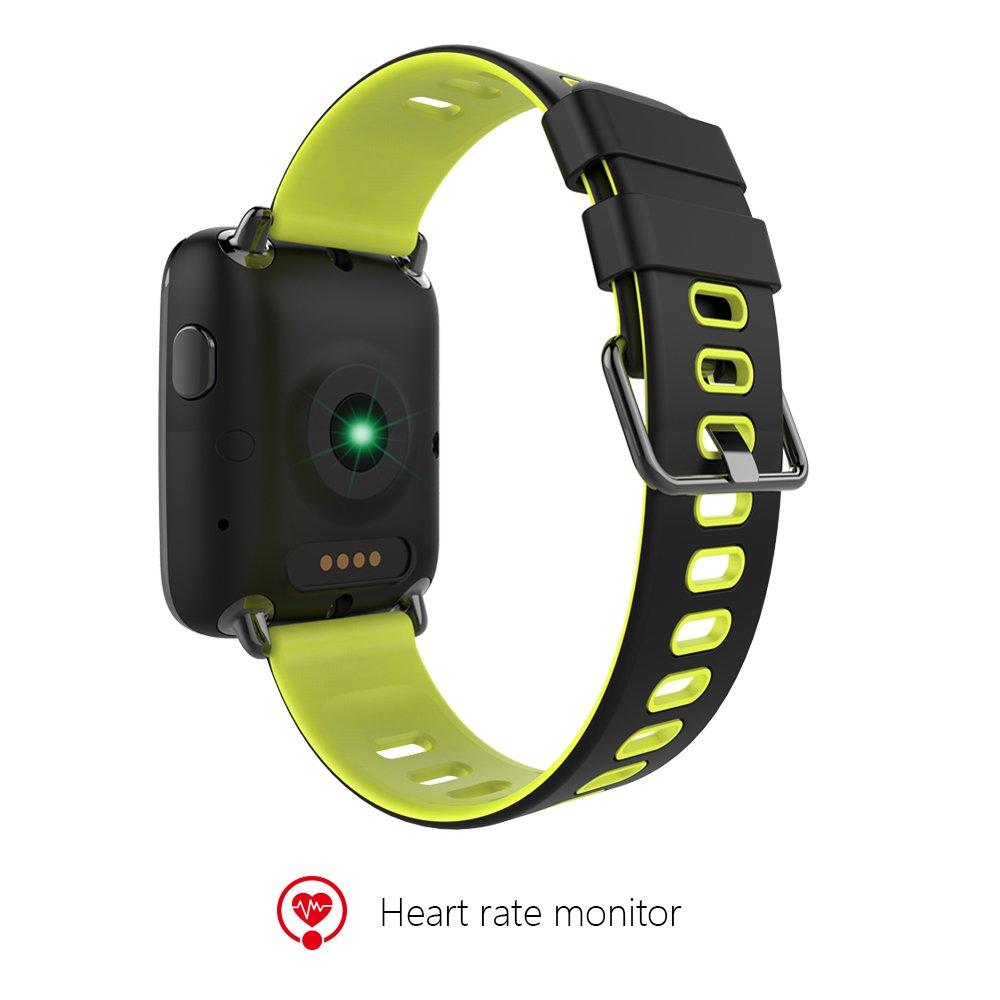 Amazon.com: AWOW Bluetooth IP68 Waterproof Fitness Tracker ...