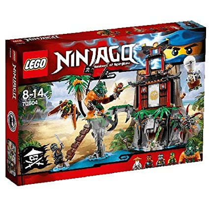 Amazon.com: LEGO (LEGO) Ninja Go away Kojima Tigger Island ...