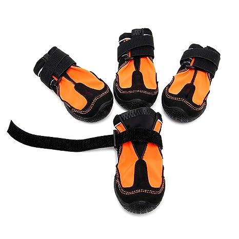 61ead4a65ac Amazon.com : ECtENX Dog Shoes Boots Long Waterproof - Large Dogs ...