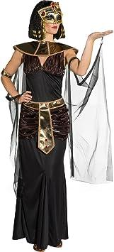 Amakando Disfraz Cleopatra Atuendo egipcia L 44/46 ...