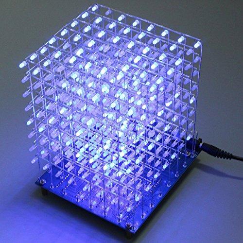 Arduino diy x led cube d light square electronic