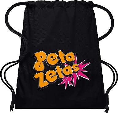 Camisetas EGB Bolsa Mochila Peta Zetas ochenteras 80Žs Retro (Negro): Amazon.es: Ropa y accesorios