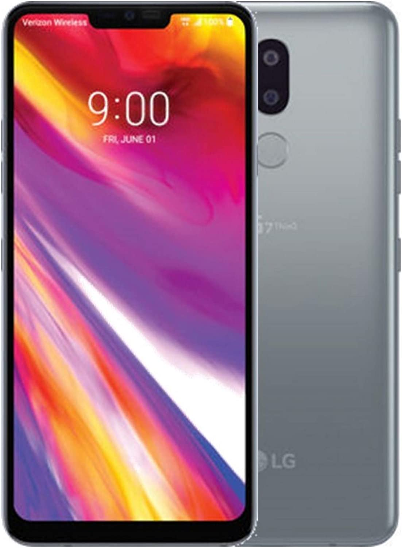 "LG Electronics G7 ThinQ 64GB Factory Unlocked Phone - 6.1"" Screen, Platinum Grey"