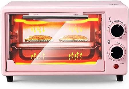 LJXWH Horno eléctrico, Doble Capa de 10 litros Horno multifunción, hogar Hornear Mini Horno se Puede Utilizar en la Cocina/pastelería/Restaurante/cafetería/Tienda de Bebidas/té de la Tarde: Amazon.es