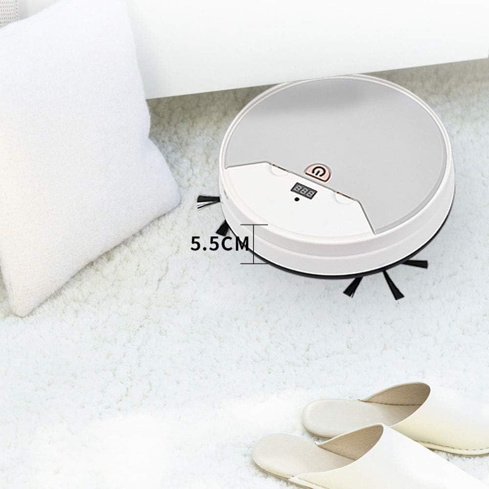 Aquila Commande à Distance de Balayage de Charge ménage aspirateur Robot Trois-en-Un Robot de Balayage AQUILA1125 (Color : White) White