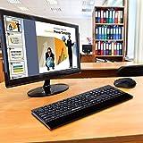 GOFREETECH 2.4G Wireless Keyboard and Mouse Combo