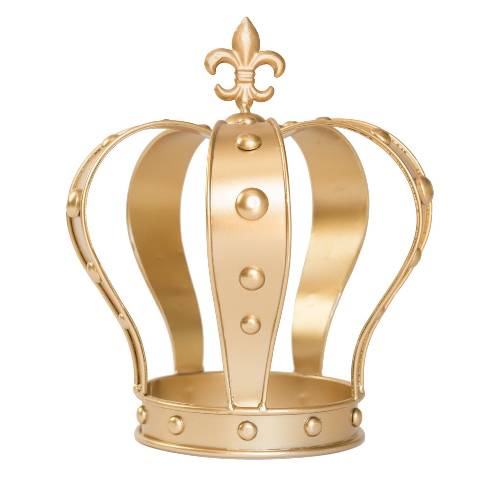 Gold Crown Cake Topper, Crown Centerpiece, Gold Wedding Cake Topper ...