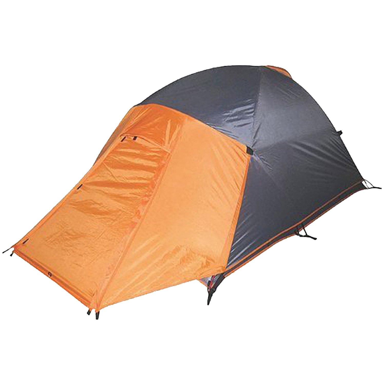 High Peak Outdoors Enduro 4 Season Backpacking Tent (2 Person), Grey/Orange