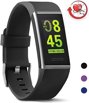 Amazon.com: MorePro X-Core Fitness Tracker con monitor de ...