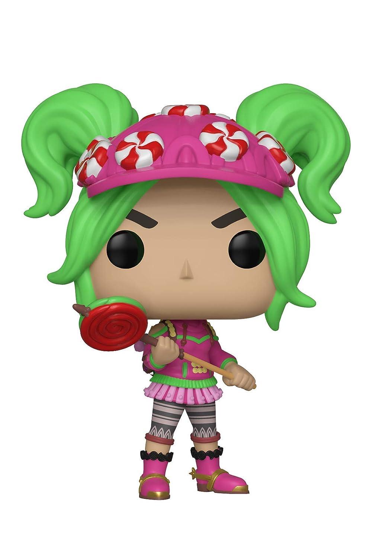 Funko Pop Fortnite Chica con cabello verde y gorra con dulces