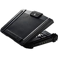 Cooler Master CM Storm SF-17 - Base Gaming para Laptop con Ventilador de 180mm y 4 configuraciones ergonómicas de altura