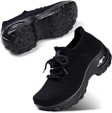 STQ Womens Lightweight Walking Shoes