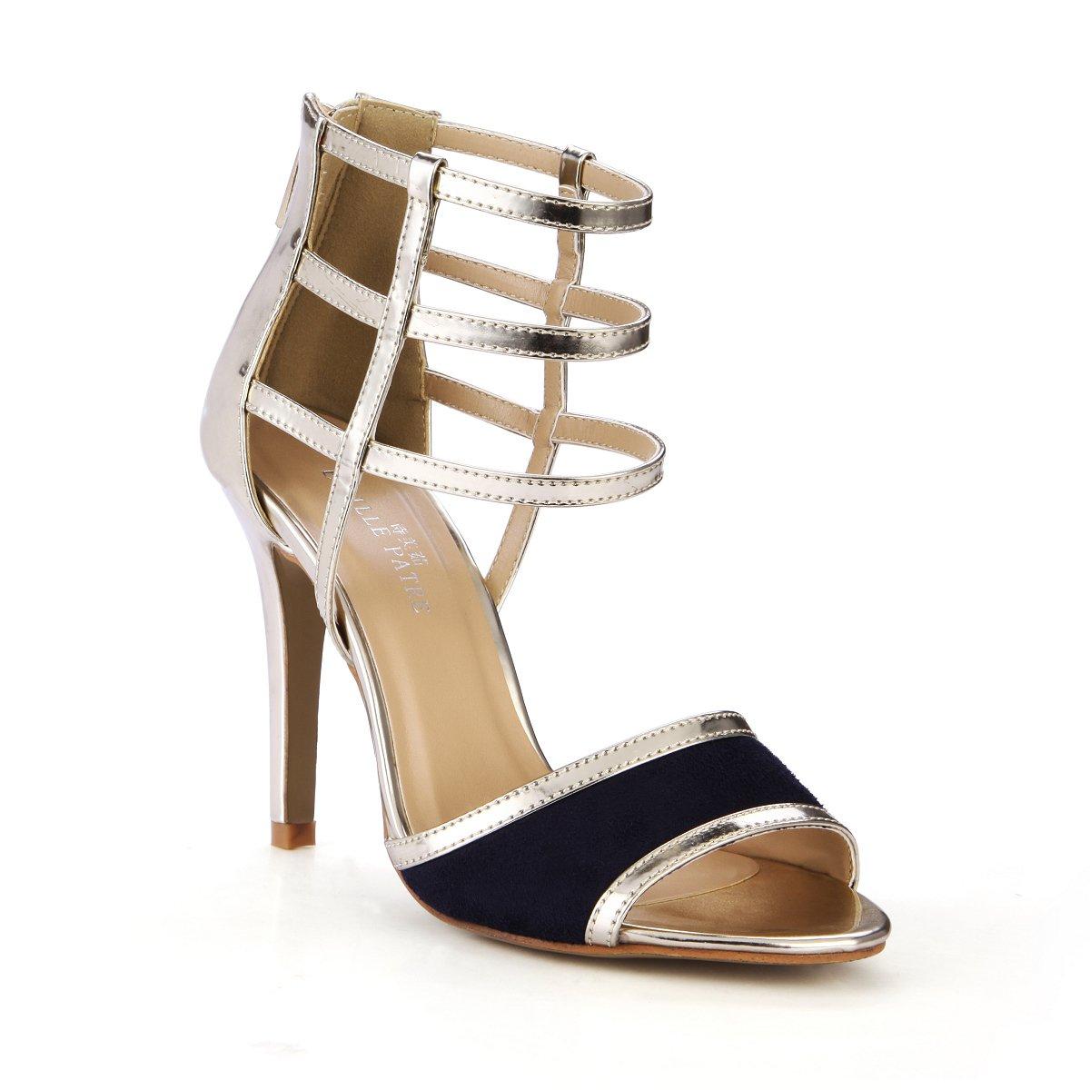 Weibliche neue neue Weibliche Boutique Sandalen Konzert Nacht high-heel Schuhe gold Band öffnen Frauen Schuhe Light gold mirror 0593d3