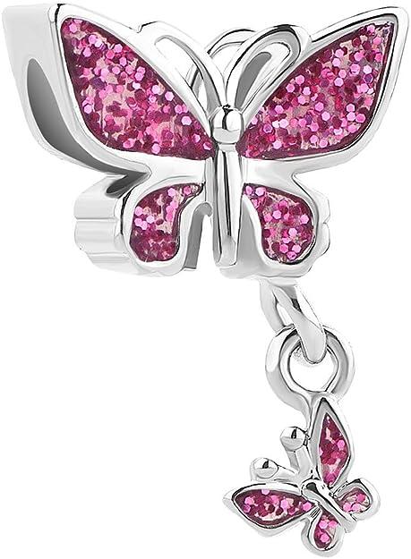 Image of Sug Jasmin Abalorio para pulsera, diseño de mariposa
