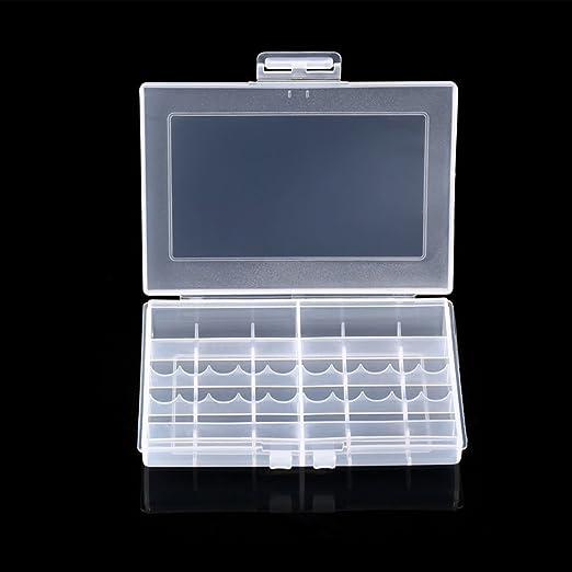 Noradtjcca Baterías Soporte Caja de Almacenamiento Caja de batería ...