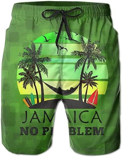 Reggae Mens Black Baggy Gym Sports Basketball Boxing Bermuda Shorts Beach Pants