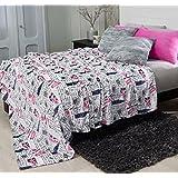 Chelsea London CHIC,Teens Girls Fleece Blanket Full
