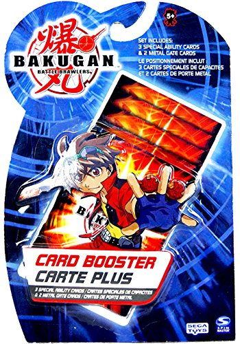 - Bakugan 5 Piece Booster Card Pack
