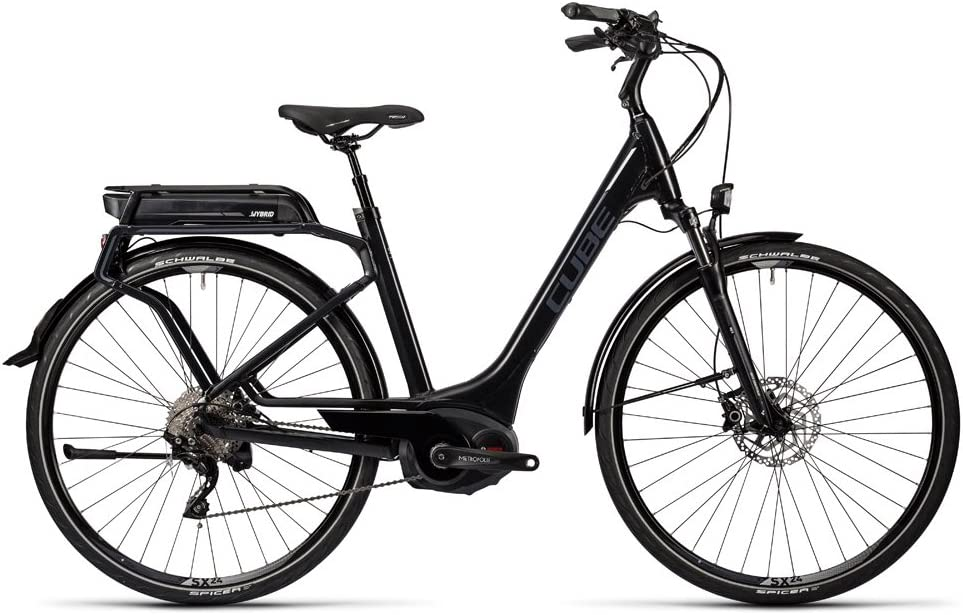 Bicicleta eléctrica CUBE Touring Hybrid 500 Pro Easy Entry 2016-H ...
