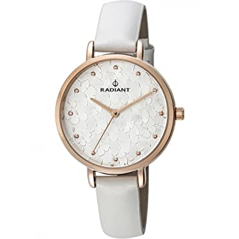 Radiant watch RA431602 Woman White Leather