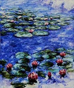 Monet Paintings: Water Lilies