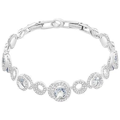 Swarovski Women Stainless Steel Charm Bracelet - 5345519 p4567Mmgo