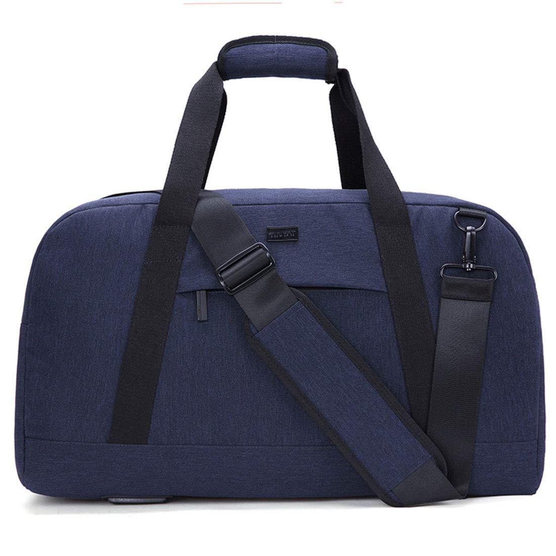 RABILTY Travel Bag Large-Capacity Wear-Resistant Mobile Messenger Bag Fashion Sports and Fitness Travel Shoulder Bag Color : Blue