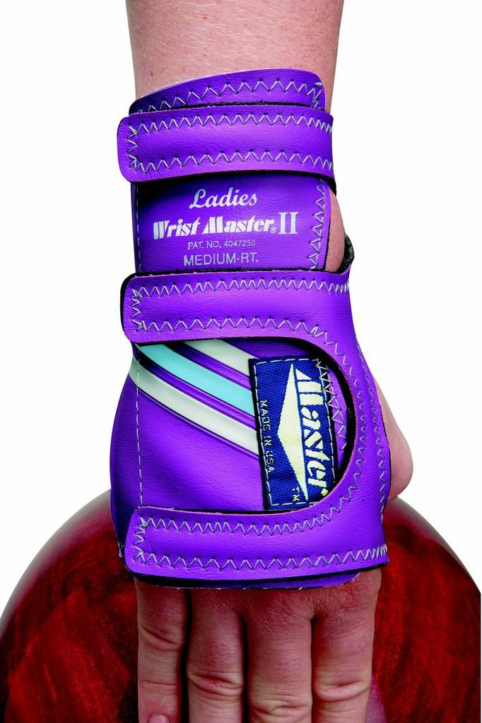 Master Industries Women's Wristmaster Bowling Gloves, Medium, Right Hand (Colors may Vary) by Master Industries