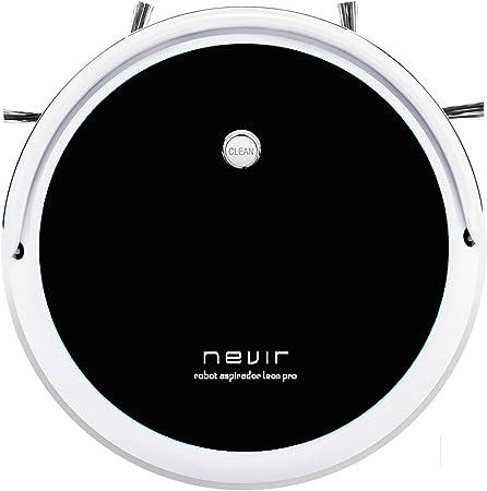 Nevir Aspirador Robot NVR-5600 RA Negro Blanco: Amazon.es: Hogar