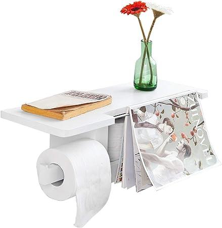 Distributeur de papier toilette WC Papier Porte-Rouleau Papier Toilette Support klorollenhalter