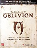img - for Elder Scrolls IV: Oblivion Official Game Guide Covers All Platforms: Revised and Expanded Covers Knights of the Nine Content by Bethesda Softworks (2006-11-21) book / textbook / text book