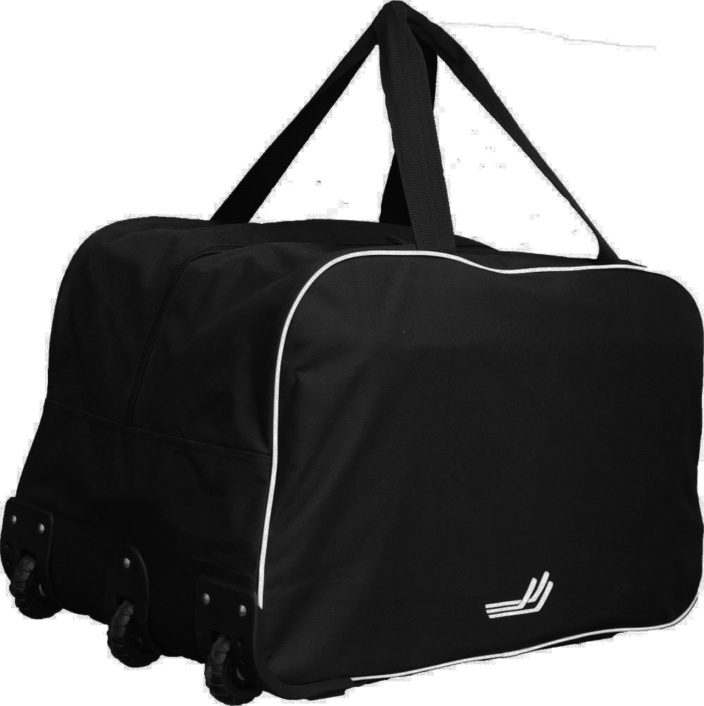 JAMM Sports 26'' Wheel Hockey and Multi-Purpose Bag, Black