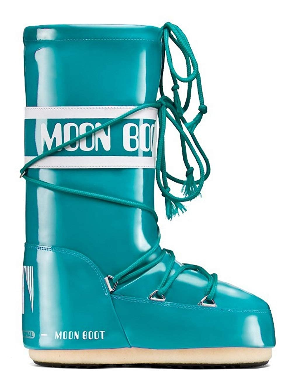 Moon (Verde Boot VINIL Stivali Invernali Unisex Bambino (Verde Moon Acqua) 31/34 - 62ca27